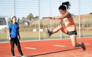 Sporteigungstest Köln - Vorbereitung auf den Hochsprung